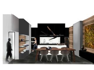 Projet rénovation appartement 240 m2 Paris:  de style  par Miaow Design