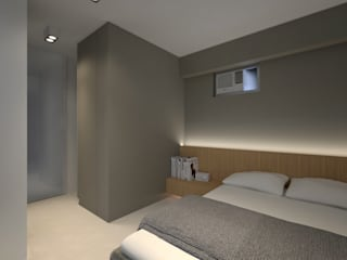 LT's RESIDENCE:  Bedroom by arctitudesign