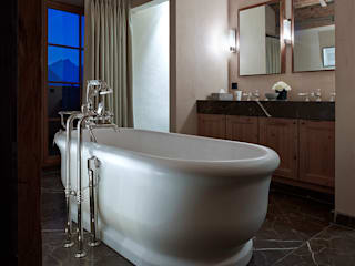 Skyfall Bathroom Architectural Interiors + Superyacht Photographer ห้องน้ำ