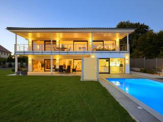 Projekty,  Domy zaprojektowane przez Bau-Fritz GmbH & Co. KG,