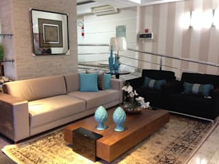 Salon original par Aline Silva Arquitetura Éclectique