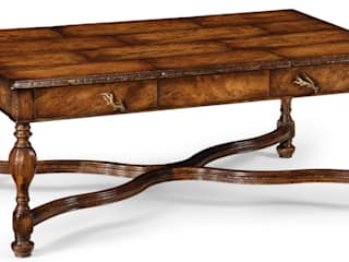 Jonathan Charles Rustic Walnut Coffee Table:   by Pavilion Broadway