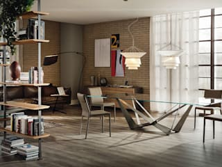 Skorpio table by Cattelan Italia:   by Urbansuite