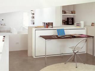 Schrankbett & Tisch Poppi Desk:   von Wohnstation