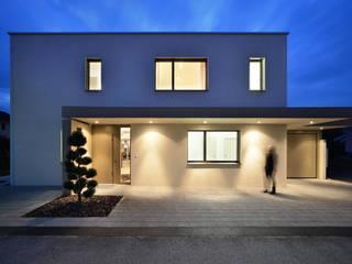 Einfamilienhaus in Widnau Moderne Häuser von Architekturfotografie Sabrina Scheja Modern