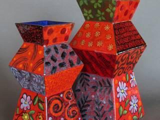 """Vases """"ZELIG"""" et """"ZEBULON"""":  de style  par LÉA SHAM'S"""