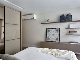 Leila Dionizios Arquitetura e Luminotécnica Modern style bedroom