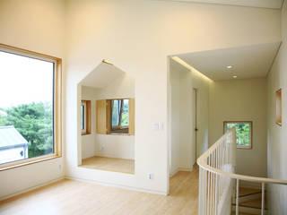 Maisons modernes par 삼간일목 (Samganilmok) Moderne