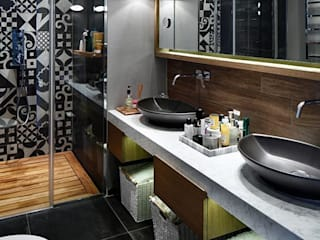 ESK HOUSE PANAVIA Modern bathroom by Esra Kazmirci Mimarlik Modern
