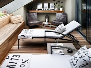 ESK HOUSE PANAVIA Modern living room by Esra Kazmirci Mimarlik Modern
