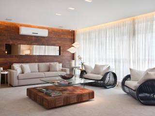 Leila Dionizios Arquitetura e Luminotécnica Livings de estilo moderno