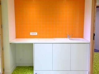 Service de Soins Infirmiers A Domicile: Bureaux de style  par 3B Architecture