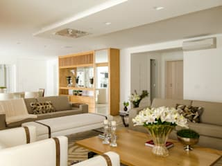 modern Living room by Prado Zogbi Tobar