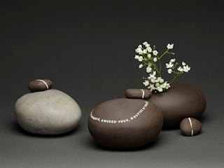 Vase galet par Laurence Fontaine Ceramique Classique