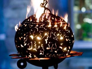 Feuertonnen สวนเตาผิงและเตาบาร์บีคิว