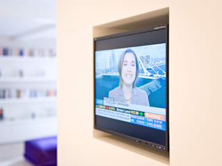 London Residential AV Solutions Ltdが手掛けたリビング