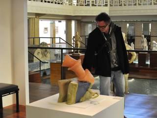 céramiques en grès émaillé par Patrick Crulis Moderne