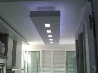 Iluminación cocina Cocinas de estilo moderno de AZD Diseño Interior Moderno