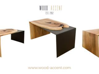 Wohnzimmer von WOOD ACCENT, Industrial