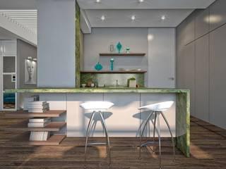 Кухня : Кухни в . Автор – Medianyk Studio