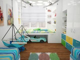 Cuartos infantiles de estilo  por Medianyk Studio