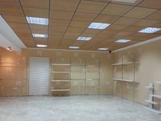Espacio Comercial Ittalian World. Oficinas y tiendas de estilo moderno de rh interiorismo Moderno