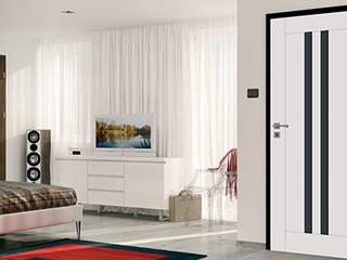 Porte intérieure design MEDIOLAN:  de style  par Coliséo
