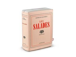 Livre-Pouf LES SALADES:  de style  par Bonjour Mon Coussin