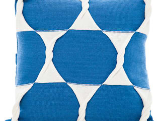 Twist Cushion - Marine:   by From Brighton With Love