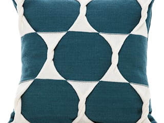 Twist Cushion - Teal:   by From Brighton With Love