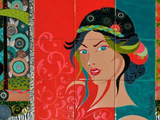 """Collection """"Les ContempoReines"""" par MARIE GOYAT Moderne"""