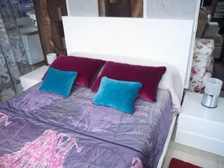 composición básica cama + 2 mesillas:  de estilo  de Lenervo