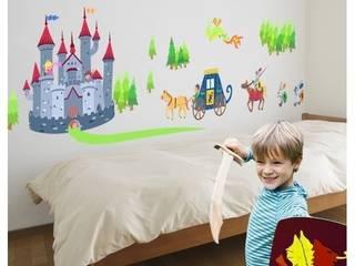 Castillo medieval Niño - Vinilos infantiles de StarStick Moderno