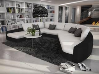 Canapé  design Ippazzio:  de style  par Mobilier Nitro