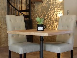 Table bistrot par Du Côté de l'Atelier Classique