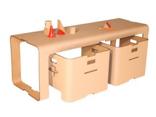 Gamme cigogne/mobilier carton par STÉPHANIE GILLES