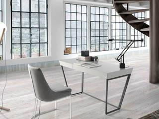 Oficinas de estilo minimalista por Muebles Flores Torreblanca