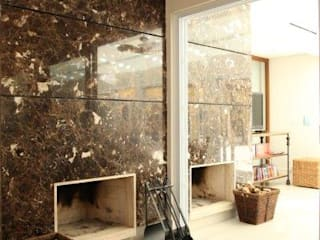 Jardines de invierno de estilo moderno de Ornella Lenci Arquitetura Moderno