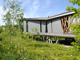 Maggie's Centre Oxford by babylon design and plants Рустiк