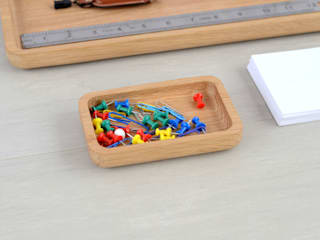 Oak Paperclip and Pin Container Utology HouseholdSmall appliances