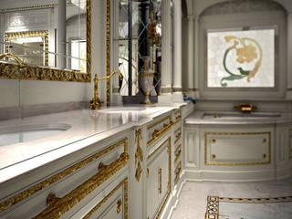 Baños de estilo clásico de Studio Montorzi Clásico