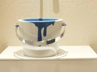 Banheiros modernos por Barbara Sterkers , architecte d'intérieur Moderno