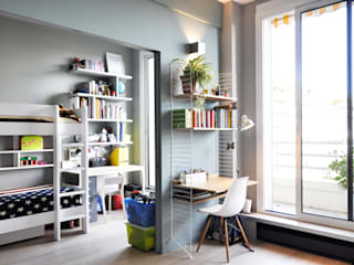 Modern Study Room and Home Office by Barbara Sterkers , architecte d'intérieur Modern