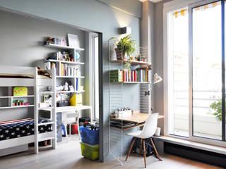 modern Study/office by Barbara Sterkers , architecte d'intérieur