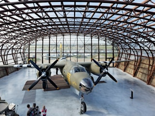 Museus modernos por Barbara Sterkers , architecte d'intérieur Moderno