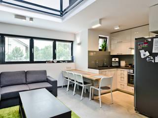 modern Dining room by ENDE marcin lewandowicz