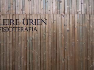 Centro de fisioterapia Leire Urien Casas de estilo moderno de Ramos Bilbao Architects Moderno