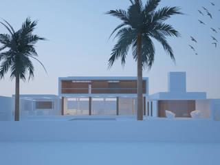 House_ZLO: Terrazas de estilo  por revolver architecture