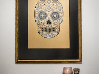 """Gold Sugar Skull: {:asian=>""""asian"""", :classic=>""""classic"""", :colonial=>""""colonial"""", :country=>""""country"""", :eclectic=>""""eclectic"""", :industrial=>""""industrial"""", :mediterranean=>""""mediterranean"""", :minimalist=>""""minimalist"""", :modern=>""""modern"""", :rustic=>""""rustic"""", :scandinavian=>""""scandinavian"""", :tropical=>""""tropical""""}  by Anatomy Boutique,"""