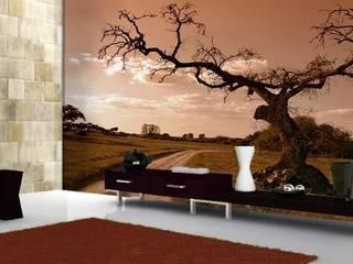 Inspiratie natuurlijke muurdecoratie:   door Muurmode
